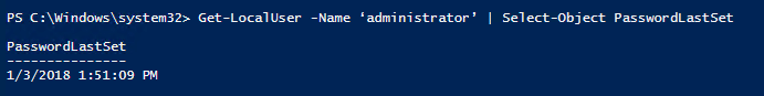 Account Managing with PowerShell 4