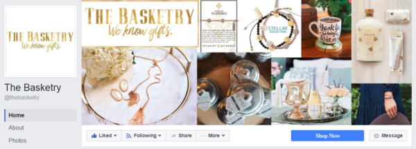 The Basketry Facebook Cover Photo Collage