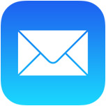 Mail icon for iOS