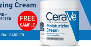 free cerave cream sample