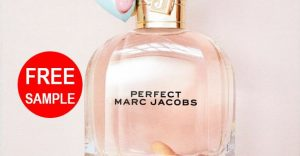 free marc jacobs perfect perfume sample