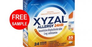 free xyzal sample