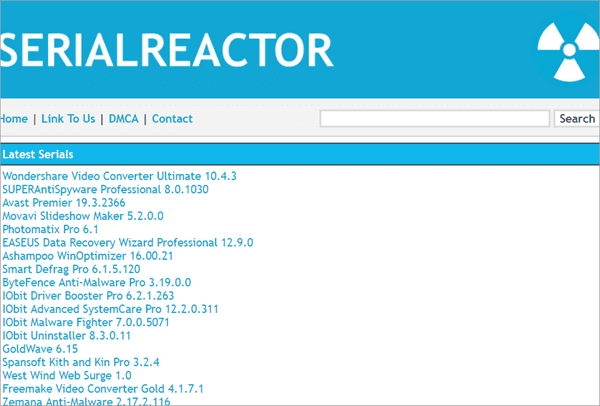 SerialReactor is Source for the Newest Serials.